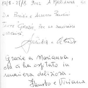 Το Σπιτι στο Κεραμωτό, Σχόλια Πελατών, Ιταλία