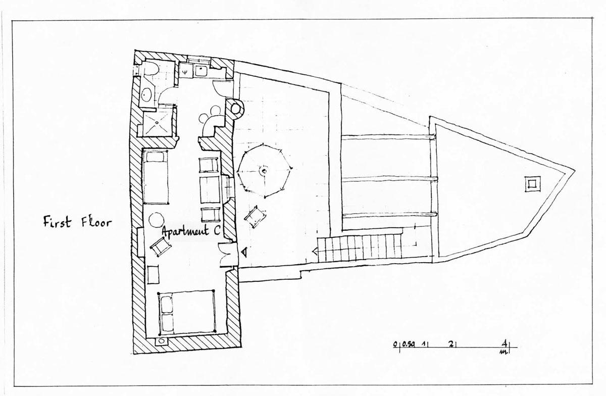 Το Σπίτι Στα Δόκανα - Κάτοψη 1 Ορόφου